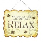 stay relaxed