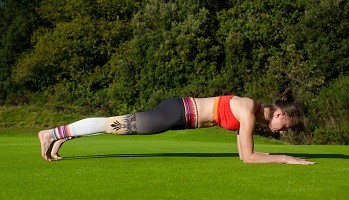 Plank, plank exercise, test core strength