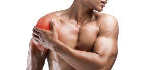 sports massage weight lifter